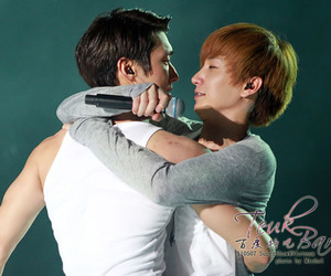 Leeteuk, siwon, and choi siwon image