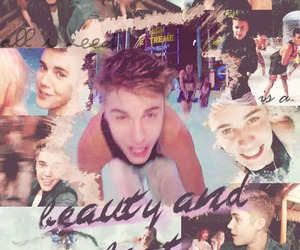 justin bieber and beauty and a beat image