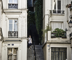building, paris, and vintage image