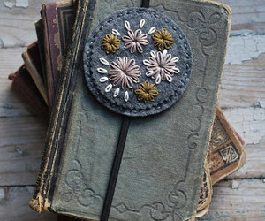 book, journal, and vintage image