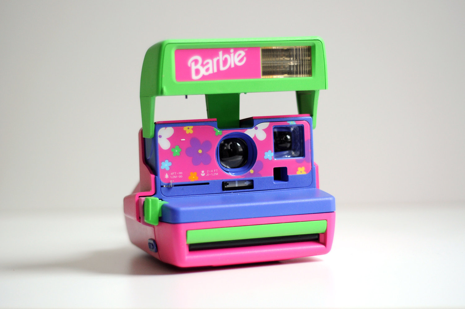 Image Detail for - Barbie Polaroid Camera Rainbow Bright Pink Blue ...