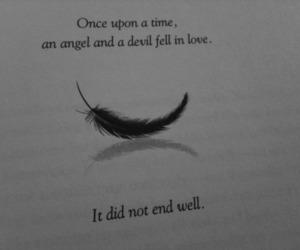Devil, love, and angel image