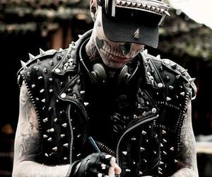 rick genest and tattoo image