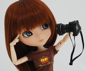 doll, camera, and pullip image
