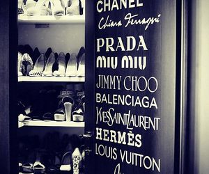 shoes, chanel, and Louis Vuitton image