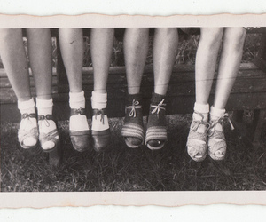 vintage, shoes, and friends image