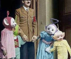 hitler, teletubies, and teletubbies image