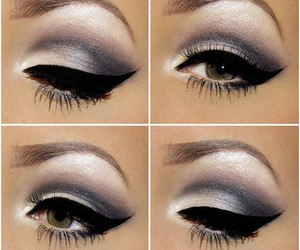 make up, makeup, and eye makeup image