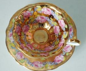 beautiful, tea pot, and vintage image