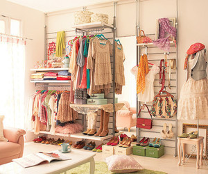 clothes, dress, and closet image