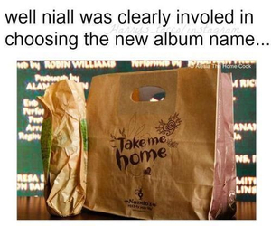 one direction, niall horan, and take me home image
