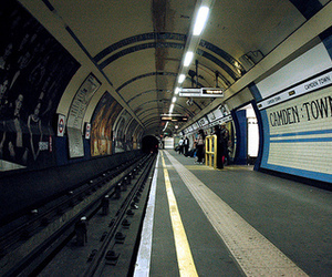 train, camden town, and station image