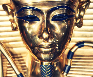 egypt, egyptian, and gold image