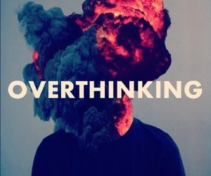 overthinking and quotes image