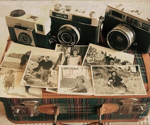 camera, photo, and old image