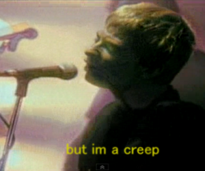 creep, radiohead, and quote image