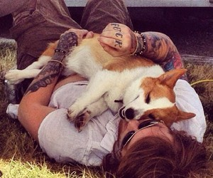 tattoo, dog, and asking alexandria image