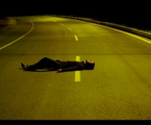 road and sad image