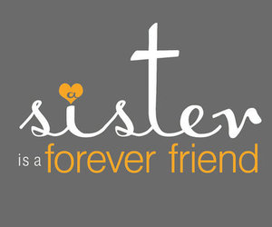 sisters, friends, and love image