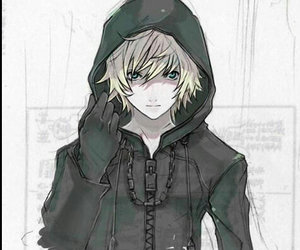 roxas, anime, and kingdom hearts image