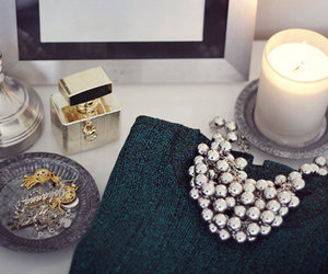 fashion, candle, and necklace image