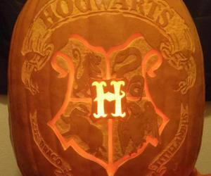 harry potter, hogwarts, and Halloween image