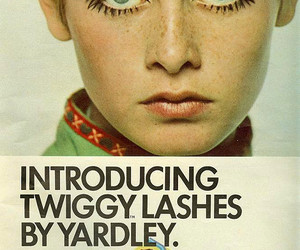 twiggy, vintage, and model image