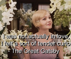 curiosity, love, and the great gatsby image