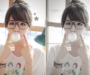 bubble gum, Sunny, and snsd sunny image
