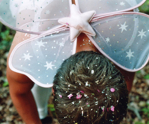 confetti, fairy, and wings image