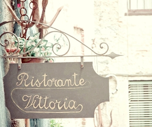 vintage, restaurant, and italy image