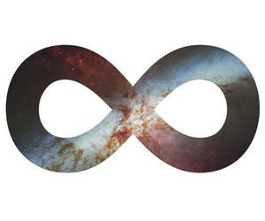 infinite and universe image
