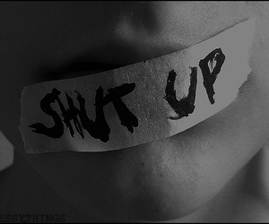 shut up, shut up!, and suicide image