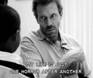 dr house, horror, and life image