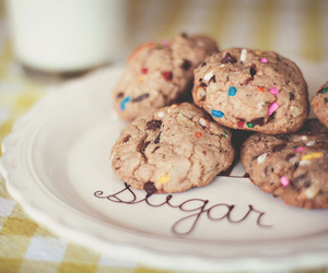 Cookies, sweet, and cookie image