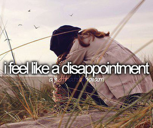 disappointment, quote, and feel image