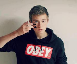 boy, obey, and Hot image