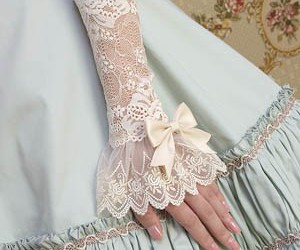 lace and pretty image