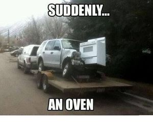 funny, lol, and oven image
