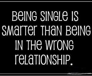 Relationship, single, and quotes image