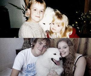 dog, McFly, and family image