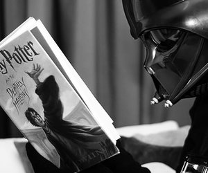 harry potter, star wars, and book image