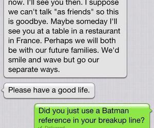 funny, batman, and text image