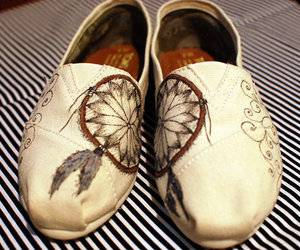 shoes, Tom, and dream catcher image