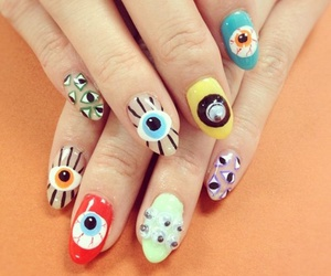 nails and eyes image
