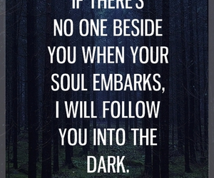 quotes, dark, and soul image