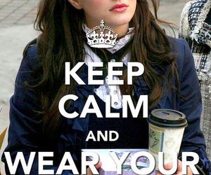 gossip girl, keep calm, and bitch image