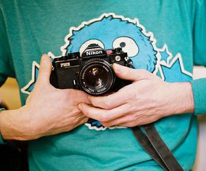 boy, camera, and nikon image