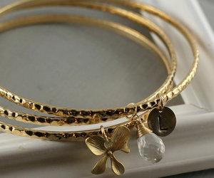 girl, beautiful, and bracelets image
