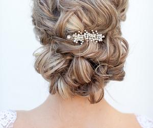 hair and wedding image